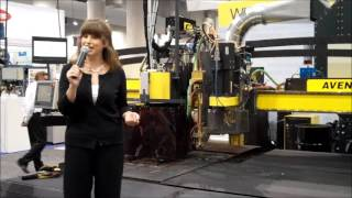 ESAB Presentation at FABTECH 2012 (Emilie Barta, Trade Show Presenter / Corporate Spokesperson)
