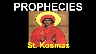 prophecies of st  kosmas