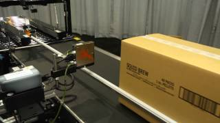 Eastey's SB-2 EX Case Taper Paired with EC2472 Adjustable Conveyor