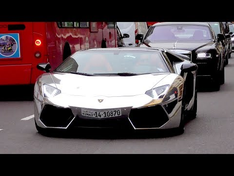 The ARAB supercar INVASION in London - ALL CARS of Summer 2017!