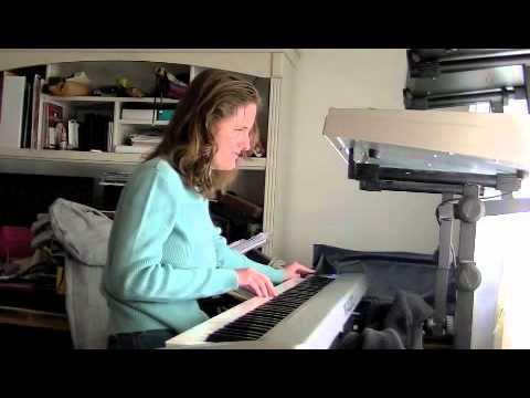 Rachel Flowers - Best Satriani cover on keyboard - Flying in a blue dream