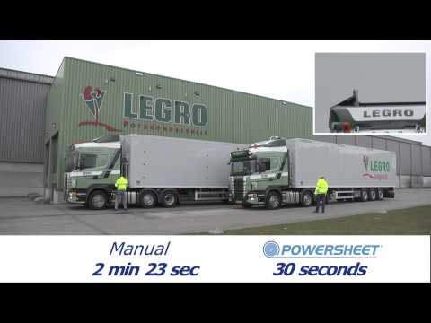 Automatic Powersheet versus Manual Covering Newton Trailers Limited