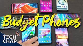 10 BEST Budget Phones (Late 2020)! | The Tech Chap | The Tech Chap