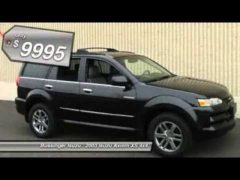2003 isuzu axiom xs 4x4 feasterville pa 19053 youtube. Black Bedroom Furniture Sets. Home Design Ideas