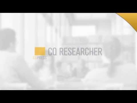 Are you looking for information and analysis on current social and political issues? Try CQ Researcher!