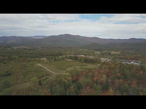 DJI Mavic Pro Drone Aerial Footage White Mountains New Hampshire Foliage Fall