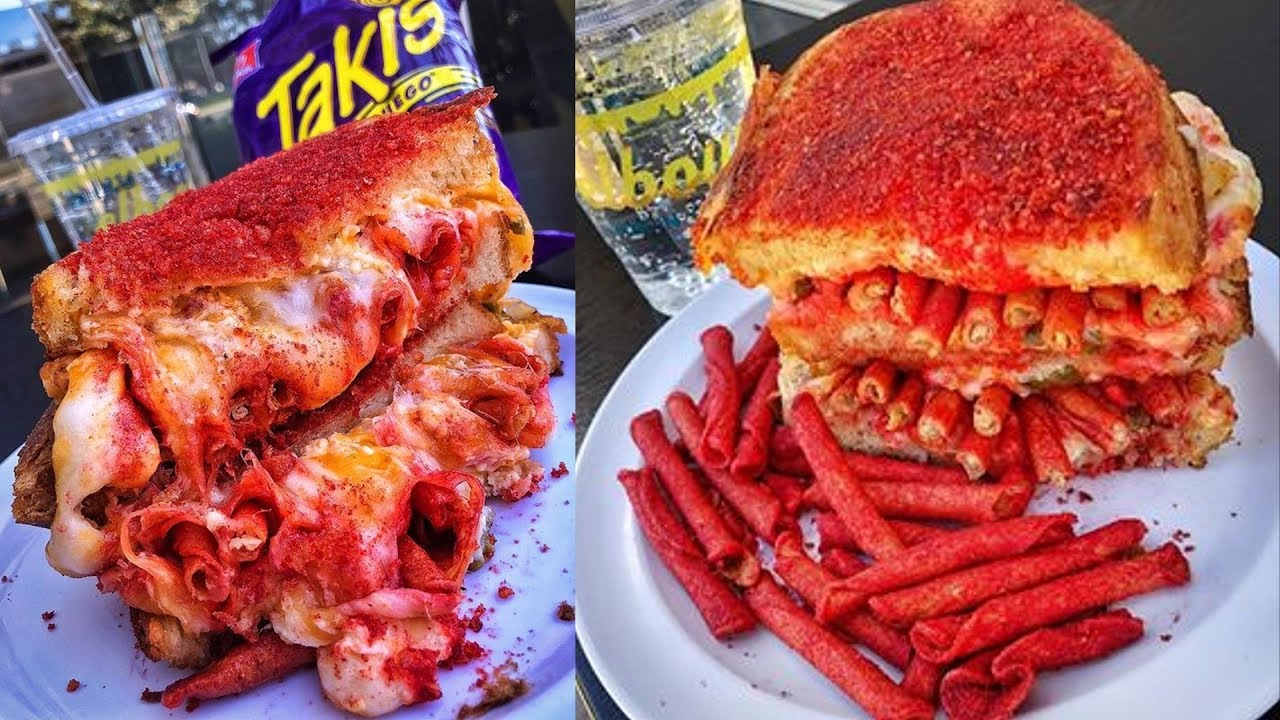 the best grilled cheese sandwich ever fuego takis grilled