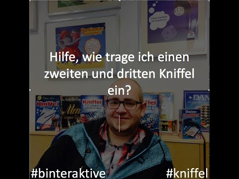 Kniffel Spielregeln
