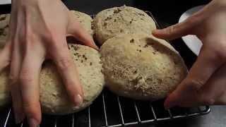 Vegan Flax Seed Buns