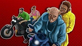 GTA 5 Funny Moments - Giant Sky Loop De Loop Races! (Funny Rage)