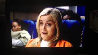 Plane Scene with Piper and Lolly (Orange is the New Black)