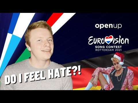 REACTING TO GERMANY EUROVISION 2021 (Jendrik Sigwart -- I Don't Feel Hate)
