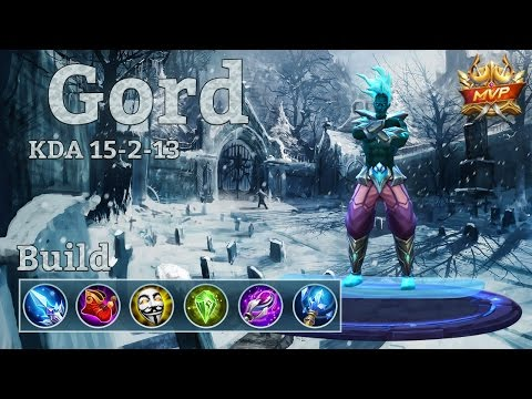 Mobile Legends: Gord MVP, his damage is insane! Easy ranks!