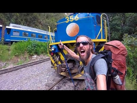 Hiking the Train Tracks to Machu Picchu (Hidroelectrica)