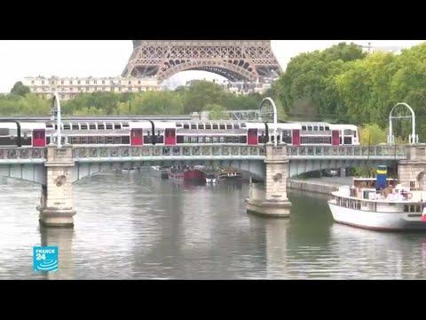 إضراب عمال السكك الحديدية في فرنسا احتجاجا على مشروع قانون إصلاح التقاعد
