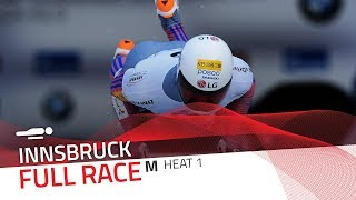 Innsbruck | BMW IBSF World Cup 2017/2018 - Men's Skeleton Heat 1 | IBSF Official