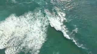 Kona Coast Waves -- 1/19/17 (Drone)