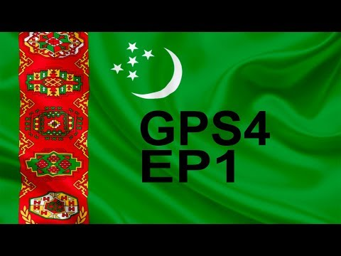GPS4 - Messing about on Turkmenistan