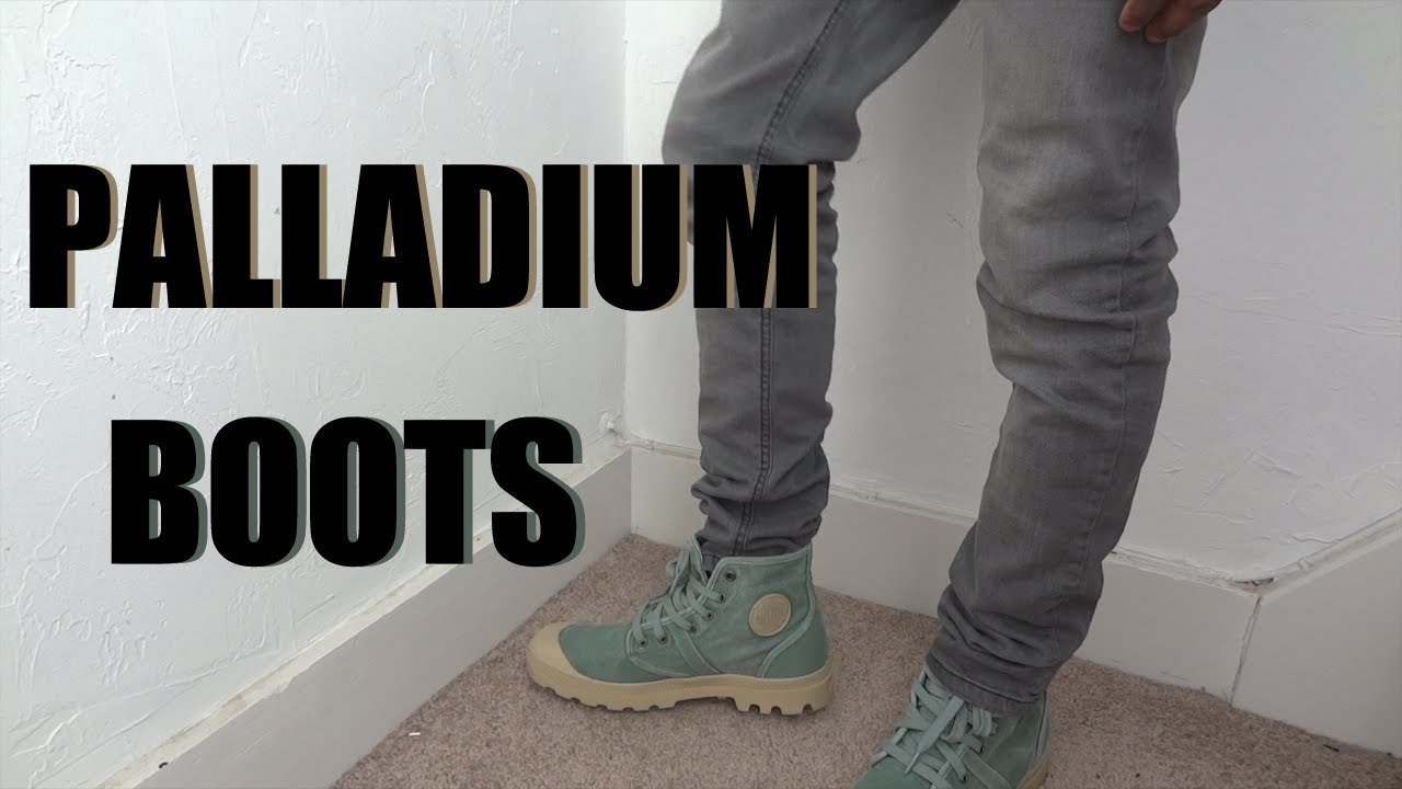 good selling best shoes aliexpress Palladium The Pallabrouse Boot Granite Green