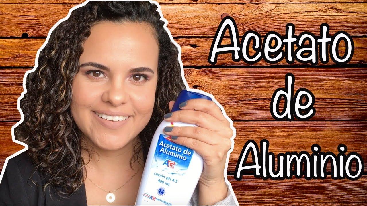 el acetato de aluminio maternity que sirve