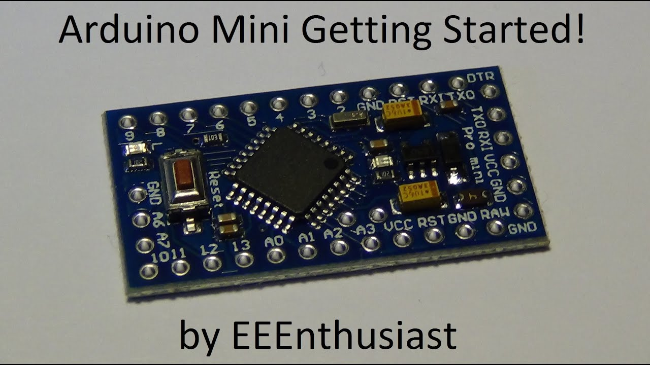 Arduino mini getting started usb to serial communication
