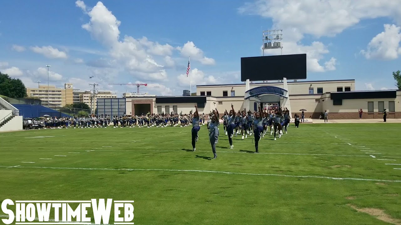 Marching In - Jackson State High School Band Camp 2019 - YouTube