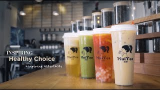 "Commercial // Mui Tea ""A Healthier Choice"""