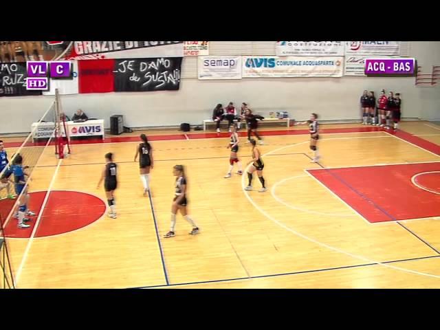 Acquasparta vs Bastia Umbra - 1° Set