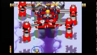 Sega Saturn - Detana TwinBee Yahoo! Deluxe Pack (Twinbee Yahho! Intro and Gameplay)
