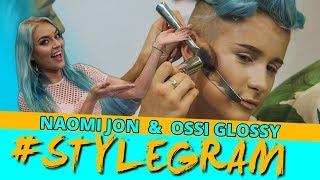 Ossi Glossy wird mit Messer, Gabel & Paprika geschminkt (2/4) | Stylegram 💃 mit Naomi Jon