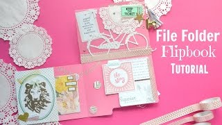 Hello Lovelies! Today we are going to use a file folder to make a f...