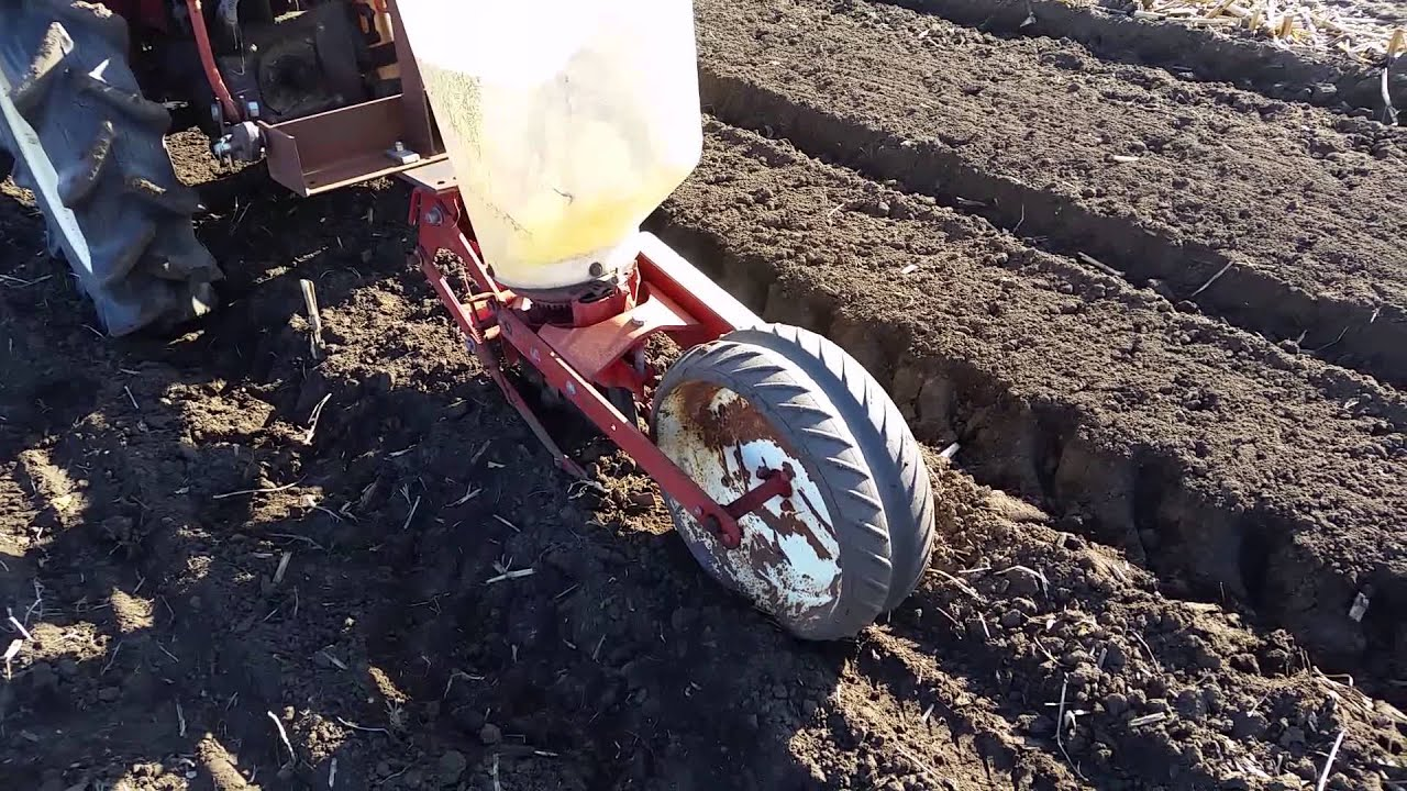My Ih 295 Single Row Corn Planter Youtube