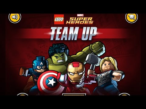 LEGO MARVEL AVENGERS SUPER HEROES TEAM UP GAME PLAY - YouTube