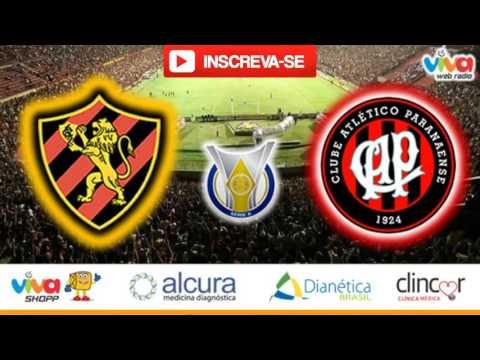 Sport x Atlético PR 30/07/16