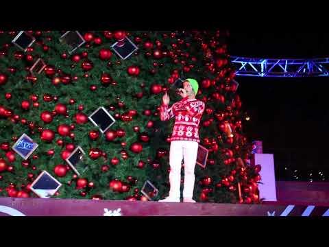 Tree Lighting Ceremony at California's Great America WinterFest 2017
