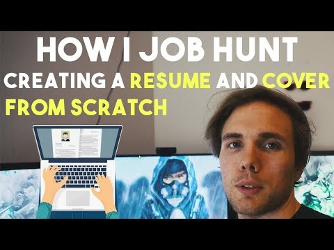CREATING A RESUME FROM SCRATCH HOW I APPLY TO SOFTWARE JOBS (Web