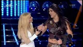 Your Face Sounds Familiar 04/05/2014 - Κώστας Δόξας (Ruslana - Wild Dances)