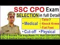 ssc cpo exam complete details