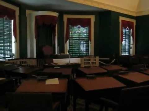 Tour of Congress Hall's Senate Chamber in Philadelphia, PA