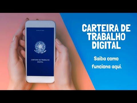 O que é CTPS Digital 2020 ? Como funciona a Carteira de Trabalho Digital, CTPS pelo app | aplicativo