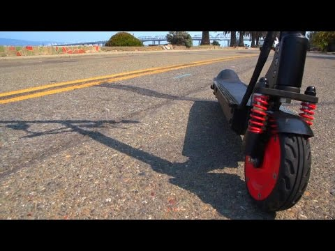 Car Tech - M3 E-Scooter: Folding electric transportation