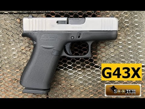 New Glock G43x Review Youtube