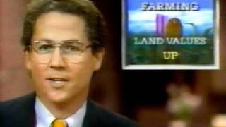 KCCI TV 8 News at Six 1987