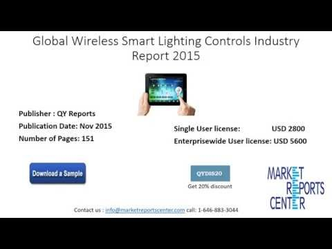 The Global Wireless Smart Lighting Controls Industry Report 2015