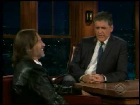 Robert Carlyle Late Late Show