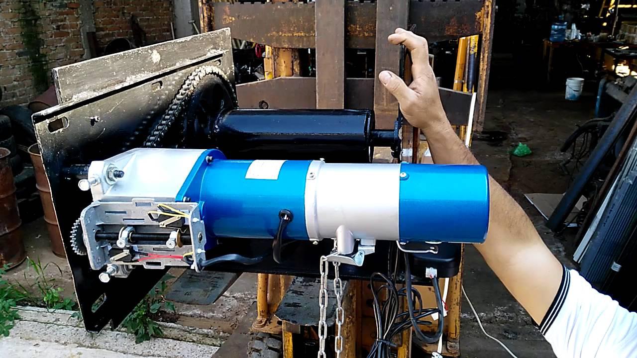 Motor para cortina metalica sin resorte youtube - Motores de persianas enrollables ...