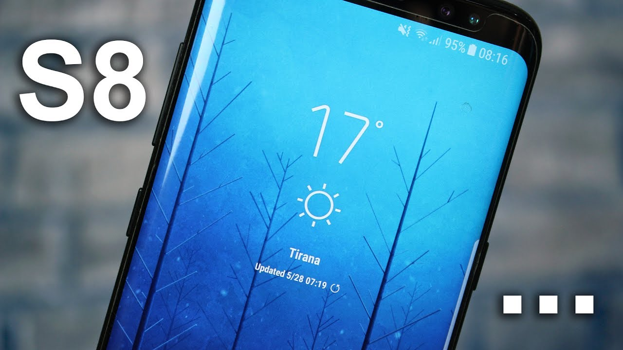 Samsung Galaxy S8 Weather Widget APK (Download & Install)