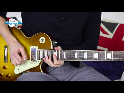 You Shook Me All Night Long SOLO Guitar Tutorial - AC/DC Angus Young Lead Guitar