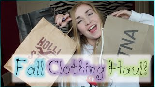 Fall Clothing Haul 2014!! Brandy Melville, F21 + more!! Thumbnail