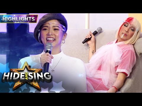 Kim retaliates against Vice's teasing of her OOTD | It's Showtime Hide and Sing